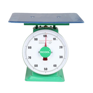 100kg big tray dial spring scale